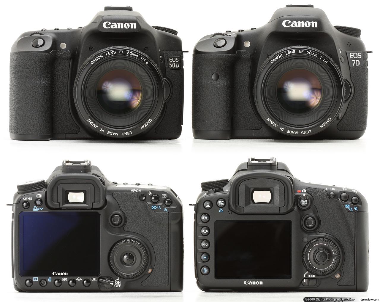 5D et autres appareils photo, avantages et inconvénients