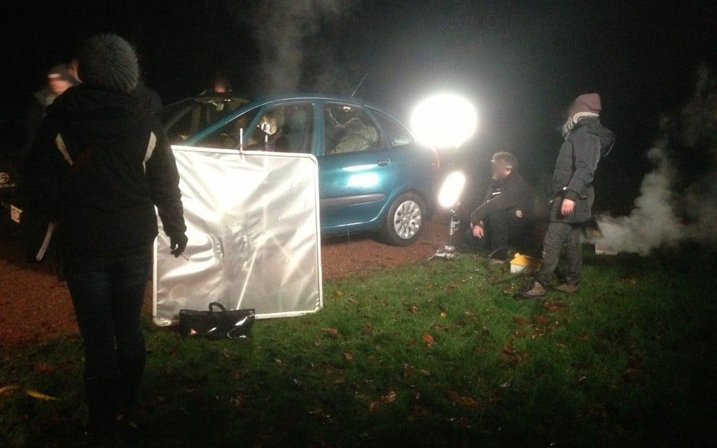 Comment éclairer de nuit dans une voiture