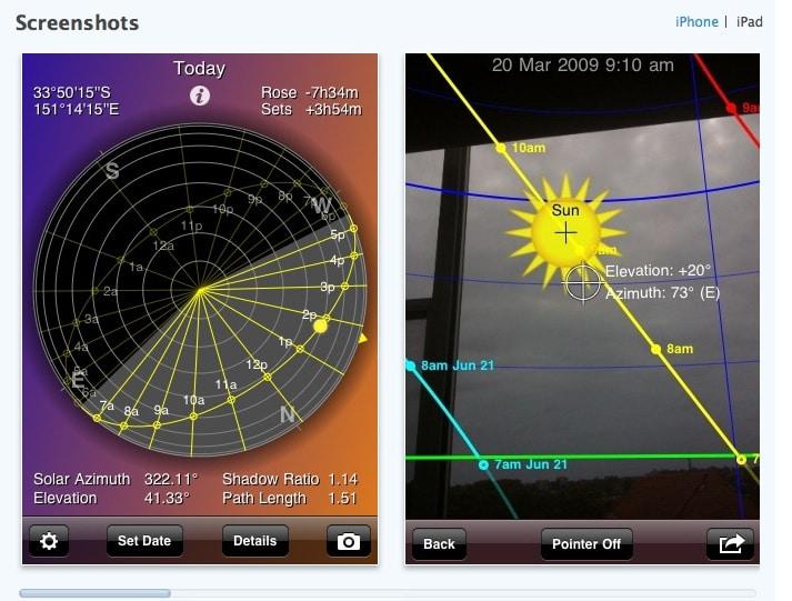 Hélios sun et bien plus, applications pour Chef opérateur