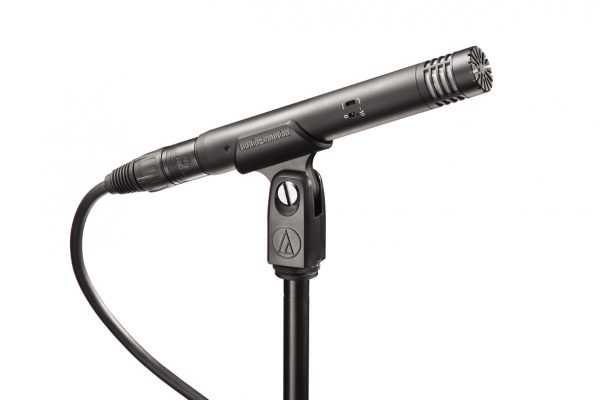 The directivity of the microphones