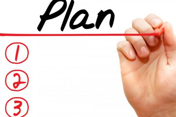 The step by step plan of your note of intent, Part II