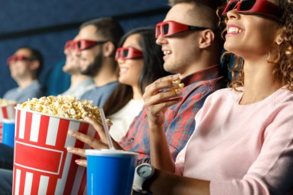 to see a movie, See movies, and read scenarios