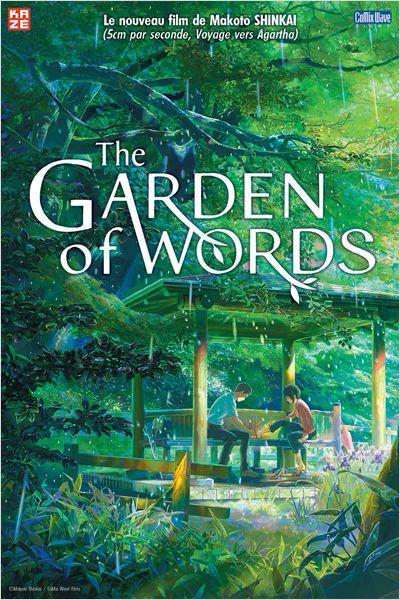 [CRITIQUE DVD] THE GARDEN OF WORDS