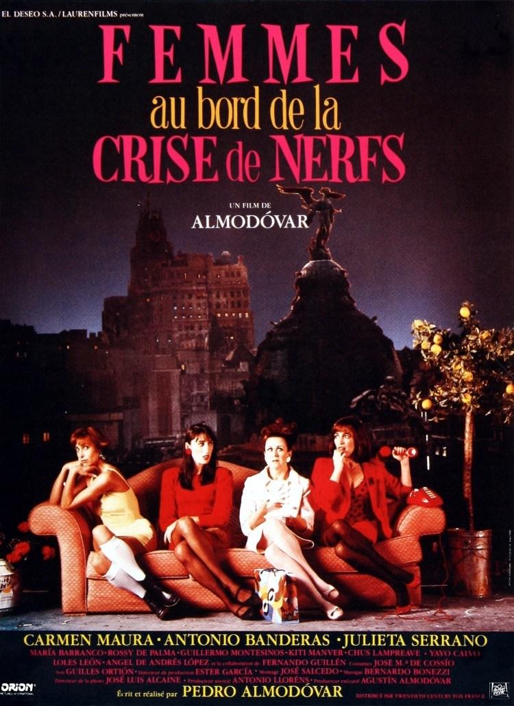 [CRITIQUE] FEMMES AU BORD DE LA CRISE DE NERFS (1989)