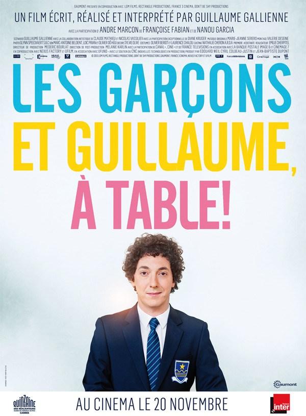 [critique] LES GARÇONS ET GUILLAUME À TABLE !