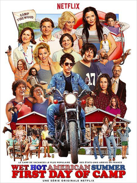 [CRITIQUE SÉRIE] WET HOT AMERICAN SUMMER : FIRST DAY AT CAMP