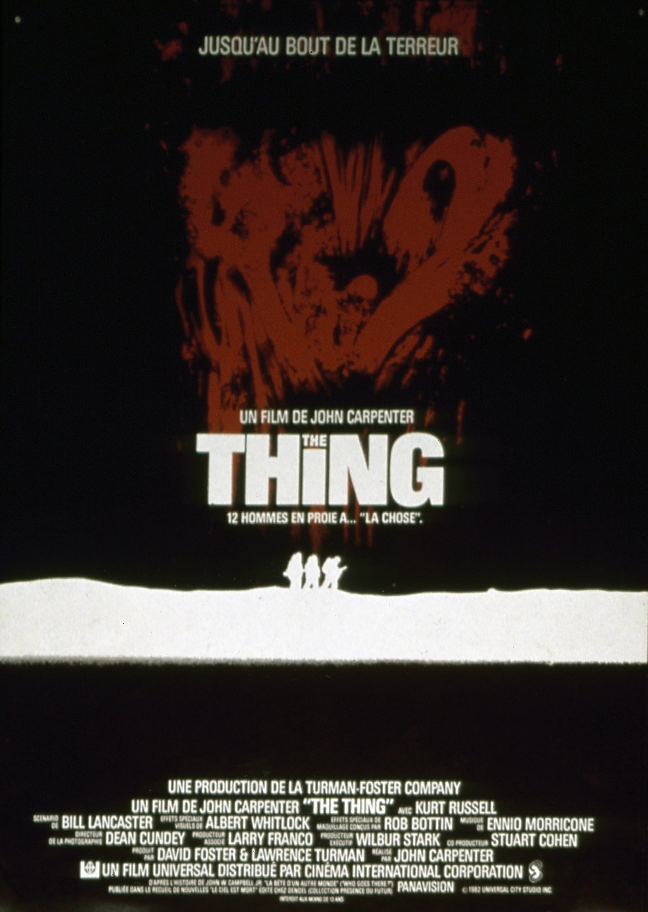 [CRITIQUE] THE THING (1982)