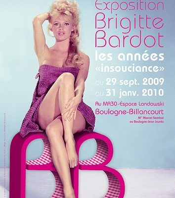 "Exposure Brigitte Bardot – The years ""Carelessness"""