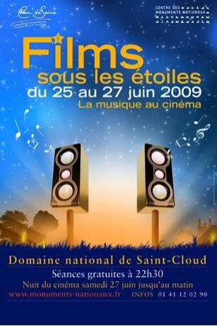 Festival of Movies under the Stars 2009 at Domaine National de Saint-Cloud