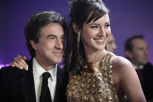 François Cluzet et Louise Bourgoin are white as snow