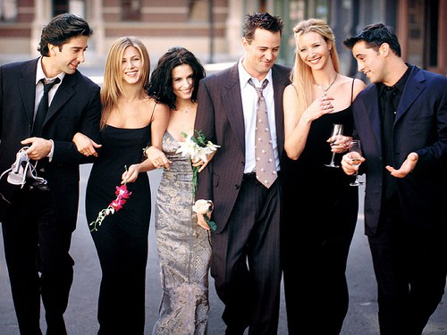 Friends : gag reel, exclusive to the 15th anniversary of the series