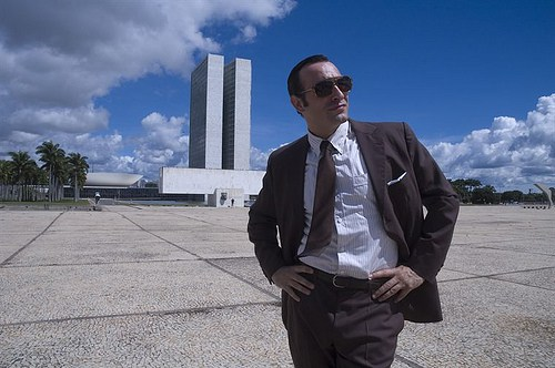 Jean Dujardin is silent the space of a film