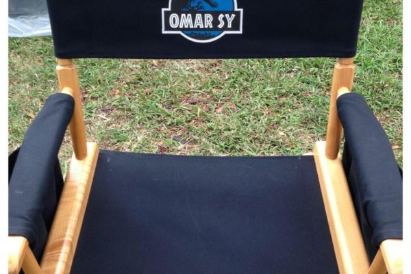 JURASSIC WORLD : a photo of the first day of filming for Omar Sy