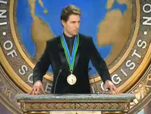 The hidden face of Tom Cruise