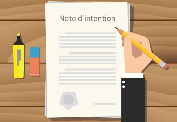 The note of intent : guidance and examples to present your film