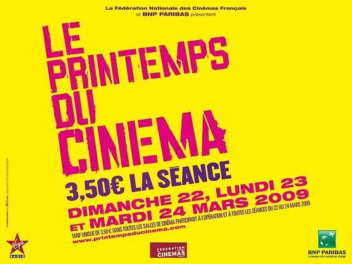 The Printemps du Cinema is celebrating its 10-year