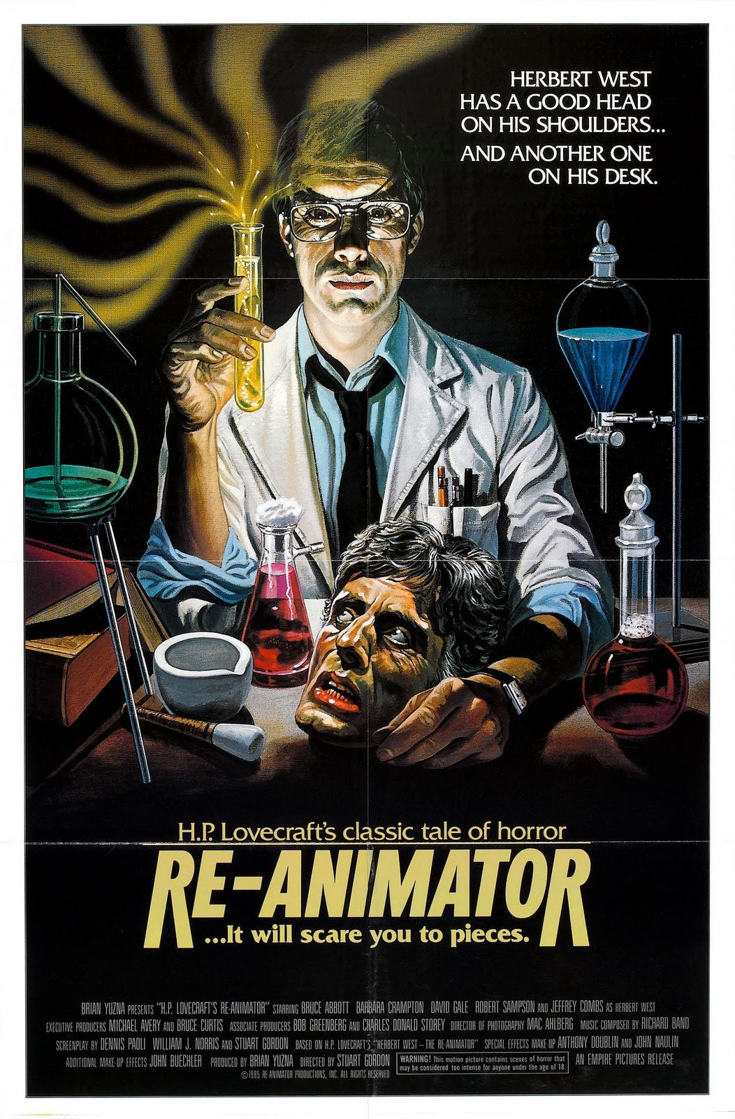 LOVECRAFT et le cinéma : Re-Animator
