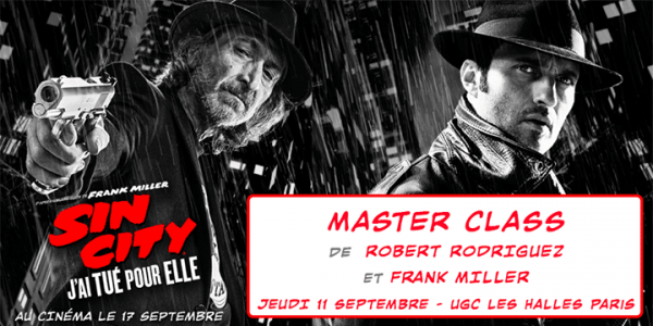 Masterclass Sin City 2 : Robert Rodriguez and Frank Miller