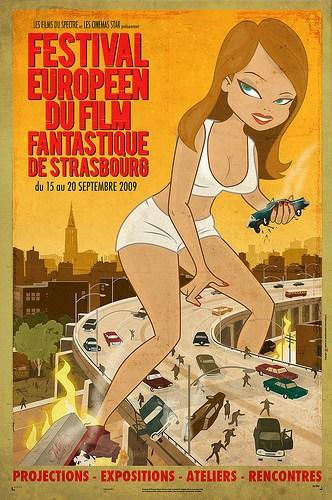 list of Winners of the European Festival du Film Fantastique de Strasbourg
