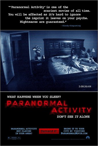 Paranormal Activity : Trailer / Bande-Annonce 2 (VO/HD)