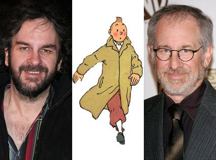 Steven Spielberg and Peter Jackson will speak to fans of Tintin