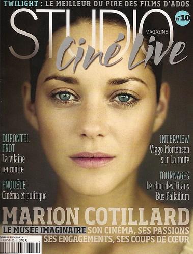 Studio Ciné Live #10 / Décembre 2009
