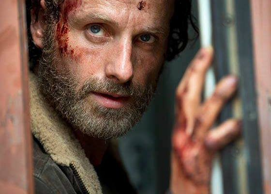 THE WALKING DEAD : first photo of season 5 of the series