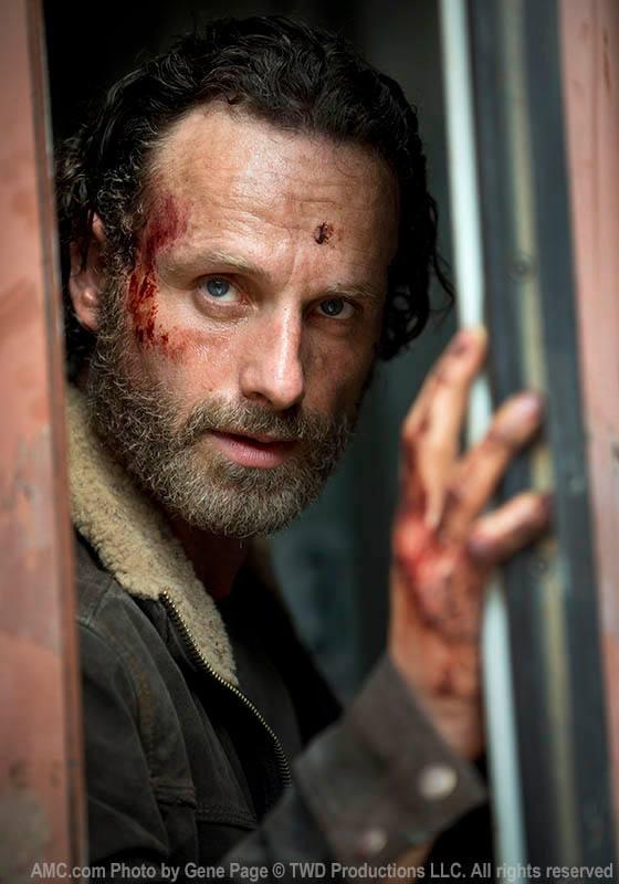 THE WALKING DEAD : première photo de la saison 5 de la série