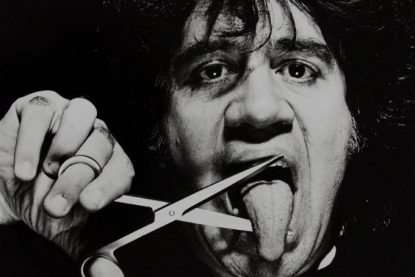 A portrait of Almodóvar