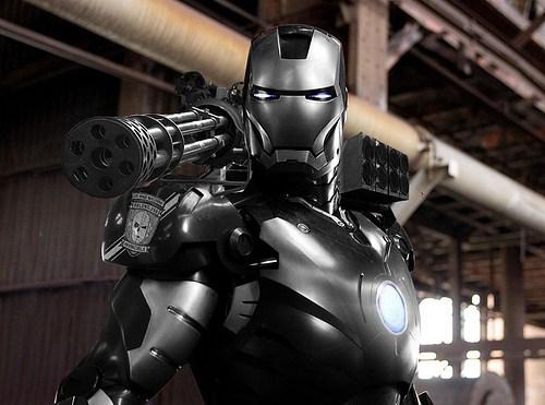 War Machine dans Iron Man 2 !